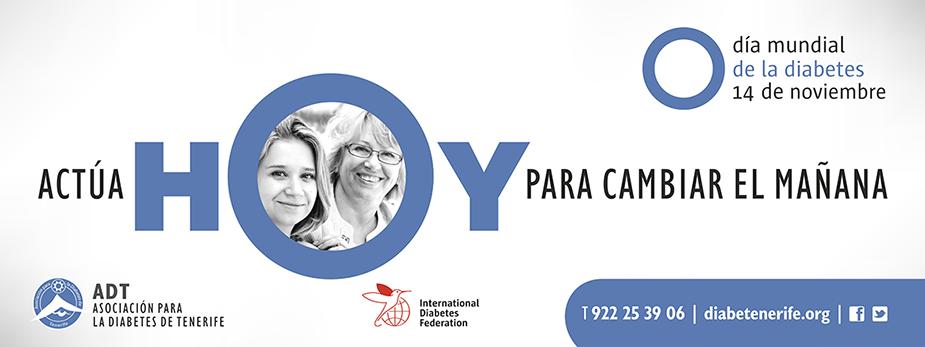 Día Mundial de la Diabetes. Campaña