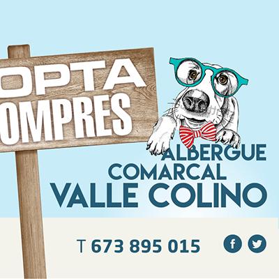 Adopta, no compres. Albergue comarcal Valle Colino