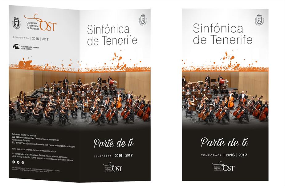 Campaña Abonos 2016/2017. Orquesta Sinfónica de Tenerife.
