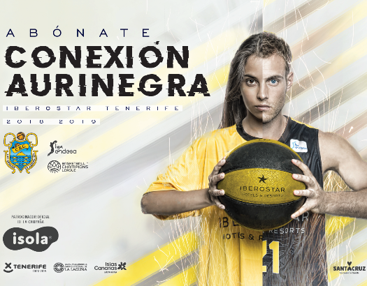 Spot campaña abonados Iberostar Tenerife 2018-19